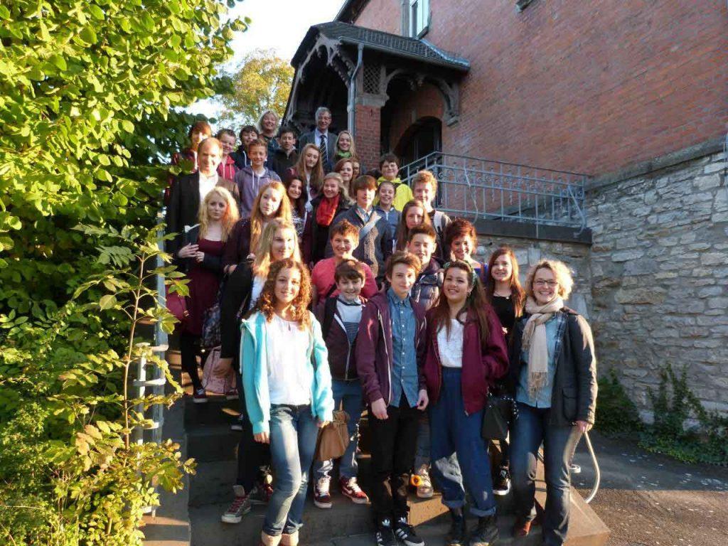 29 englische Schüler besuchen Ehringshausen