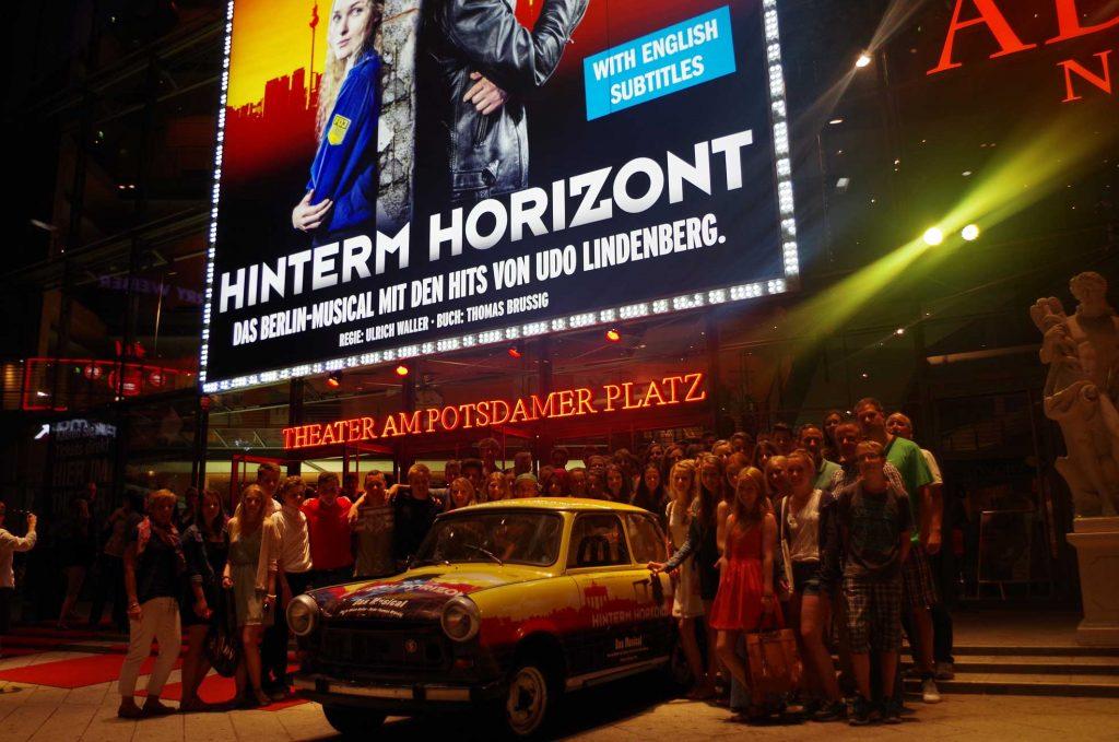 Gutenbergschüler unternehmen Studienfahrt nach Berlin