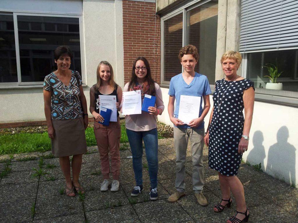 Gutenbergschüler – Preisträger beim Fremdsprachenwettbewerb