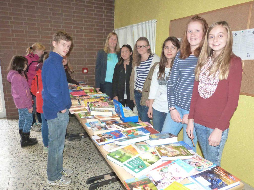 Bücher-Basar für Mitschüler