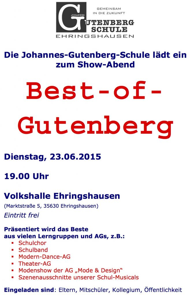 Best of Gutenberg