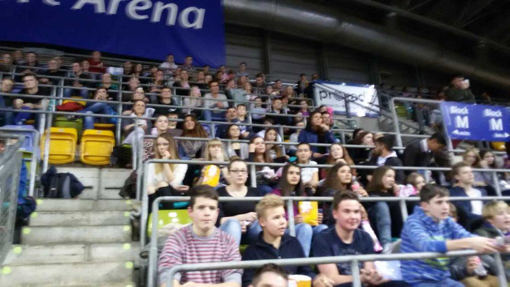 Basketball Bundesliga in der Fraport Arena in Frankfurt am Main