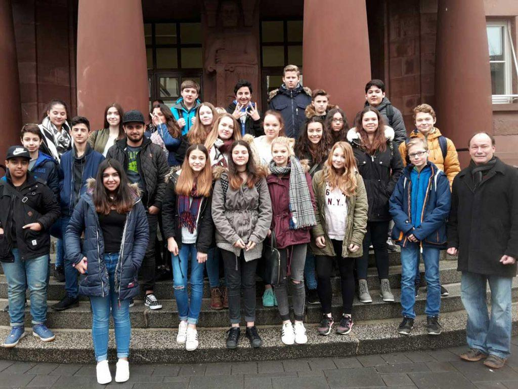 Besuch beim Landgericht Gießen