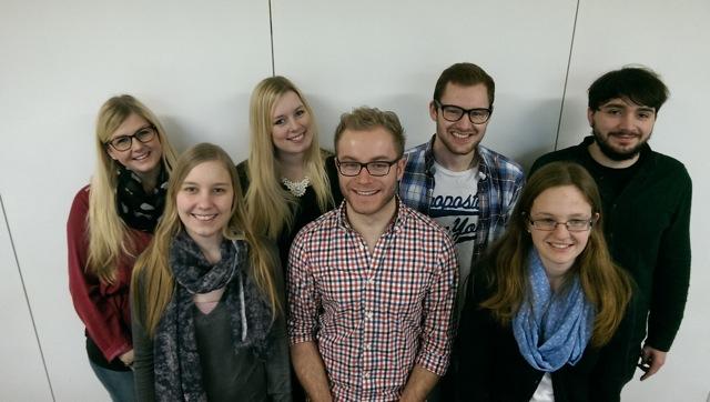 Praktikanten der Justus-Liebig-Universität an der Johannes-Gutenberg-Schule