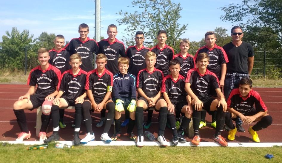 Johannes-Gutenberg-Schule Ehringshausen Vize-Kreismeister im Fußball
