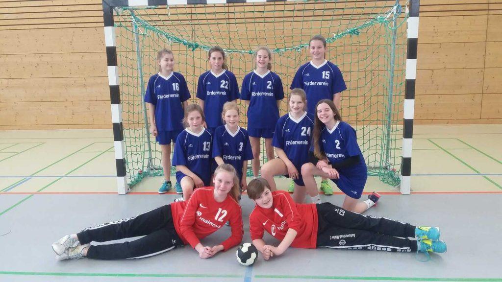 Gutenberg-Handballerinnen in der Erfolgsspur