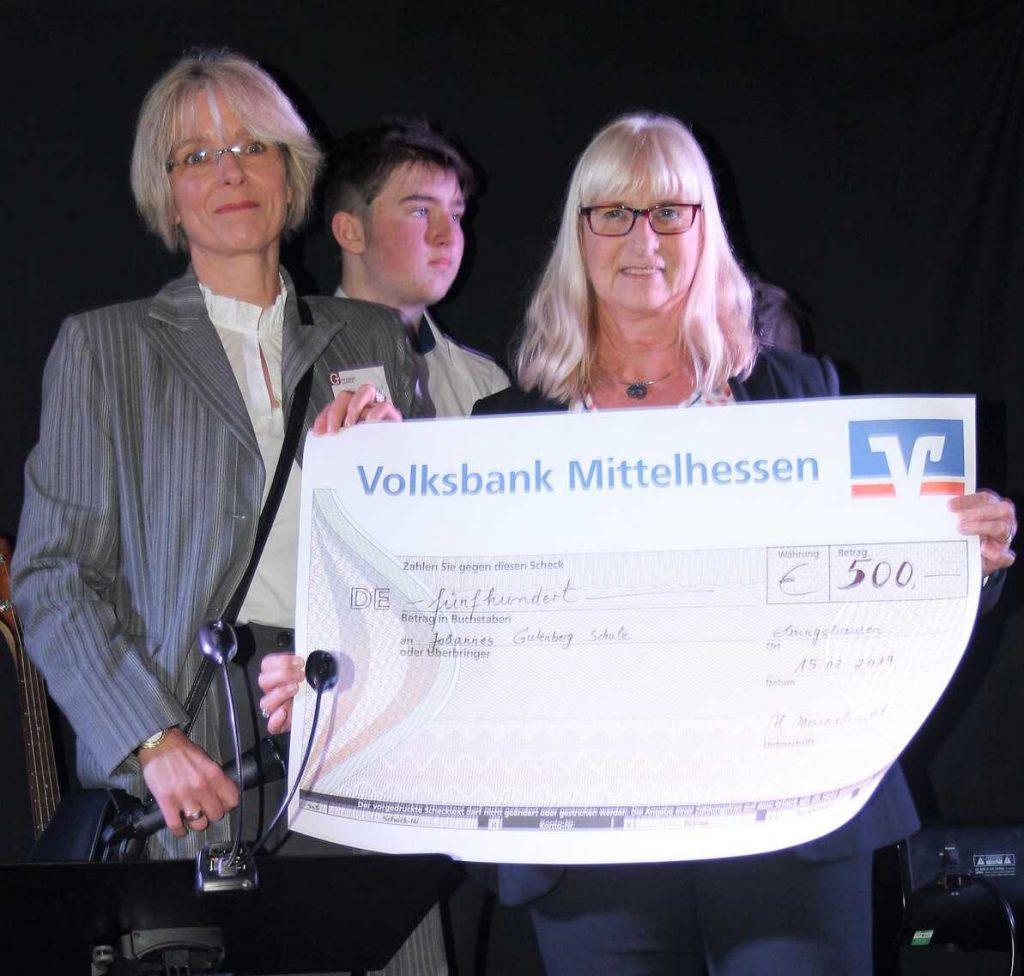 Gutenberg-Schule freut sich über Spenden