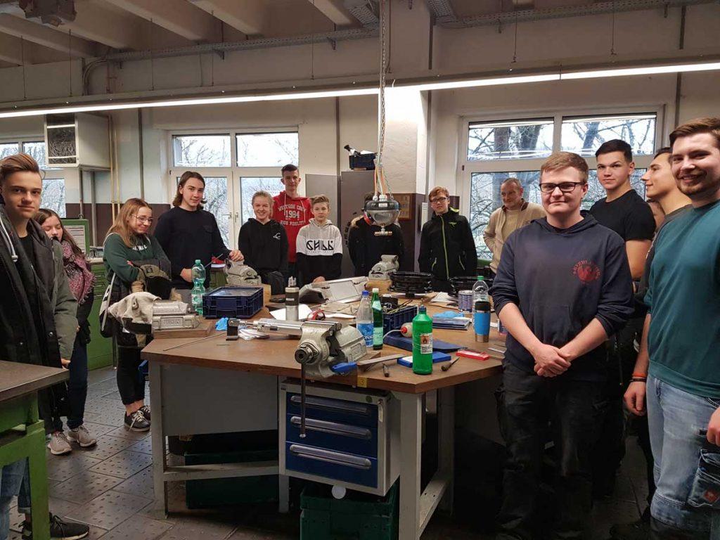 JGS-Schüler besuchen MINT-Betriebe