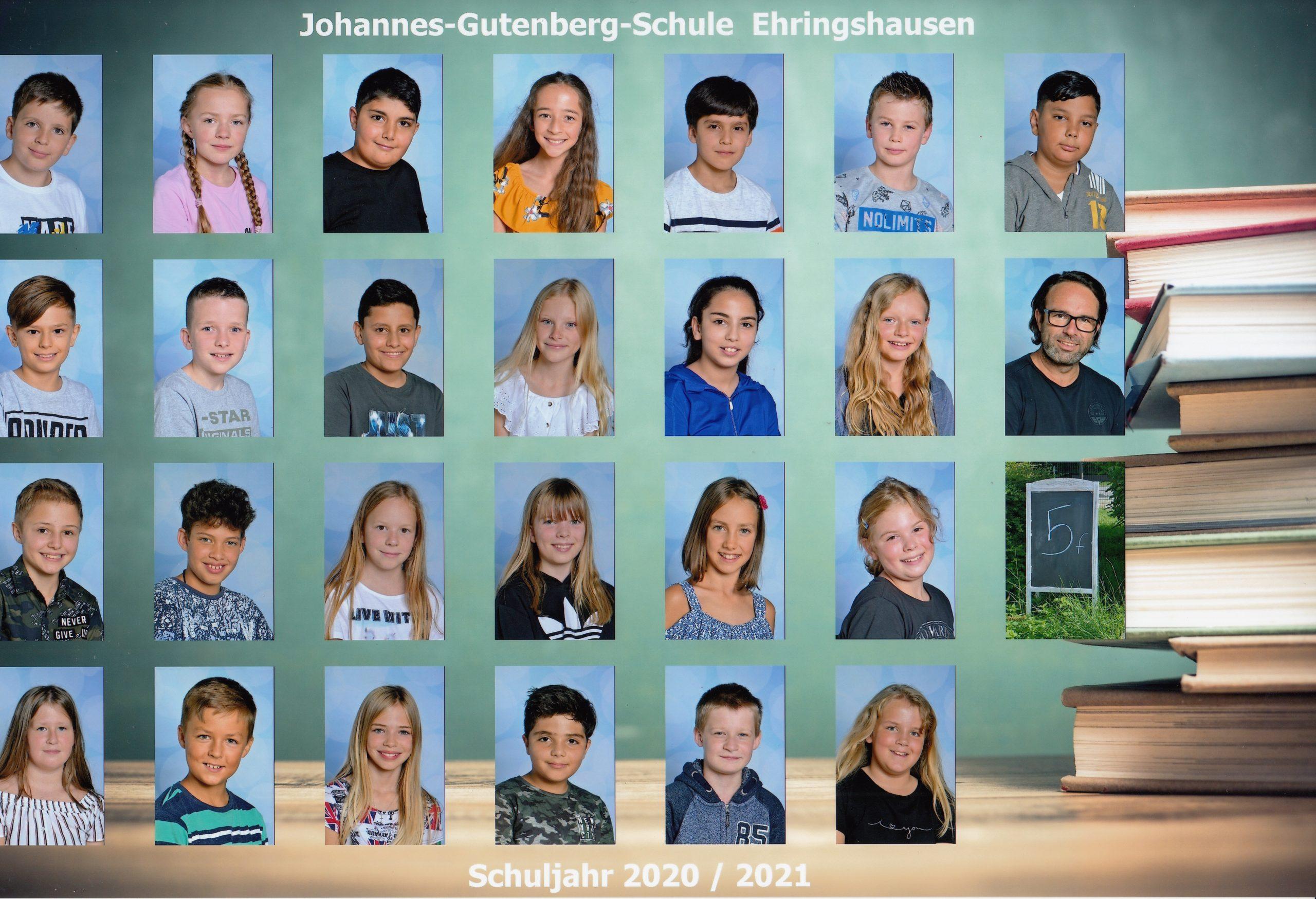 Klasse 5f - Herr Volk