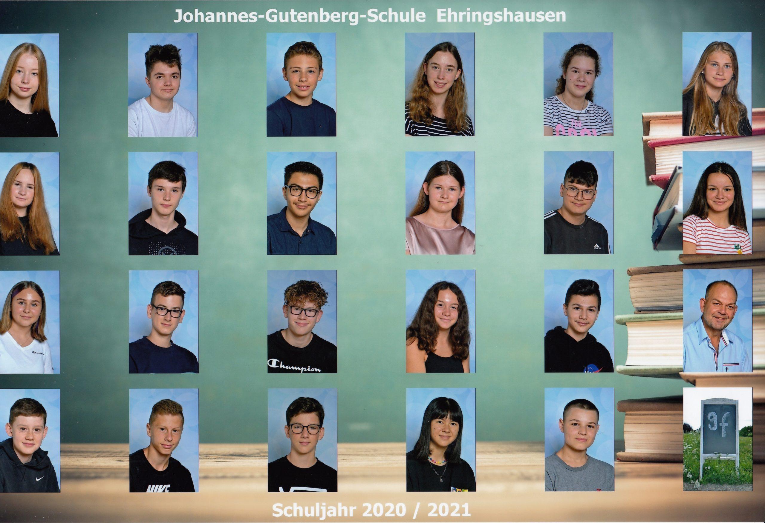 Klasse 9f - Herr Hardt
