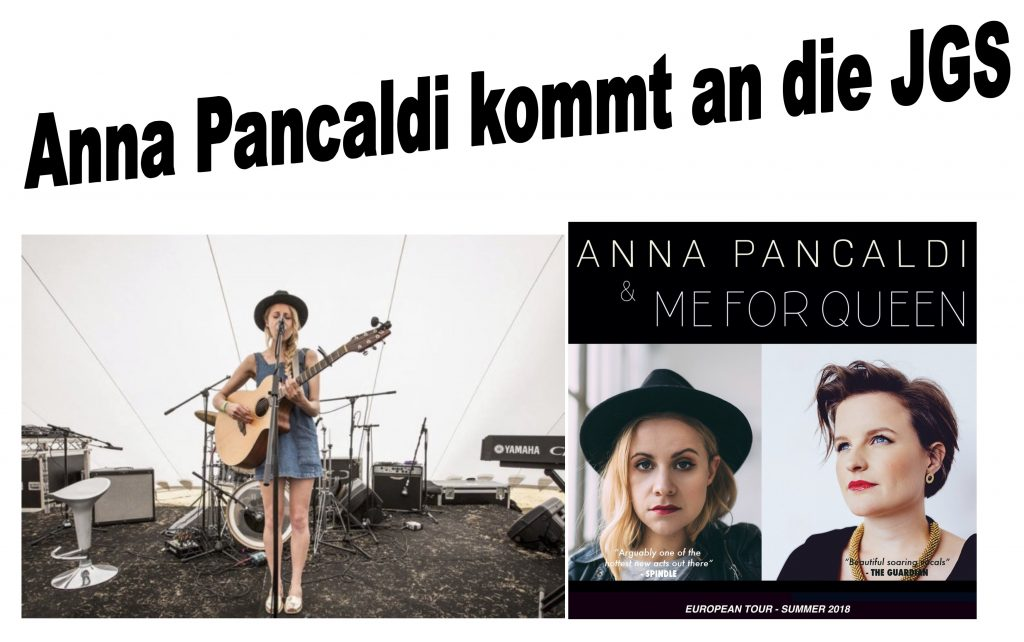 Anna Pancaldi kommt an die Johannes-Gutenberg-Schule