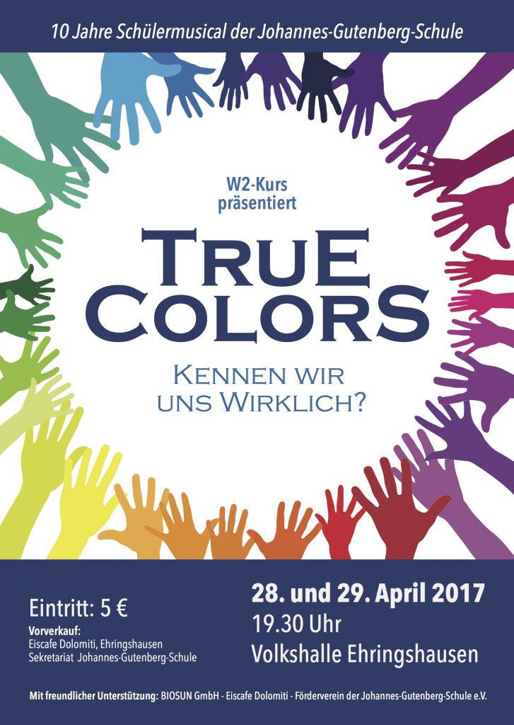 Musical 2017: 28.+29. April in der Volkshalle in Ehringshausen