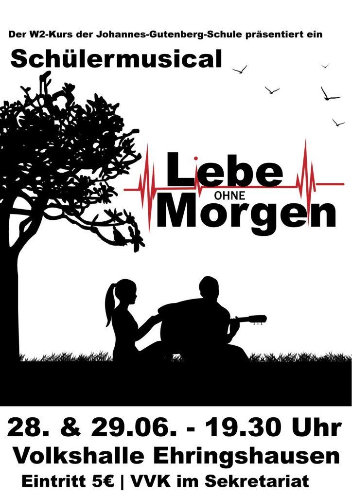 Schülermusical LEBE OHNE MORGEN