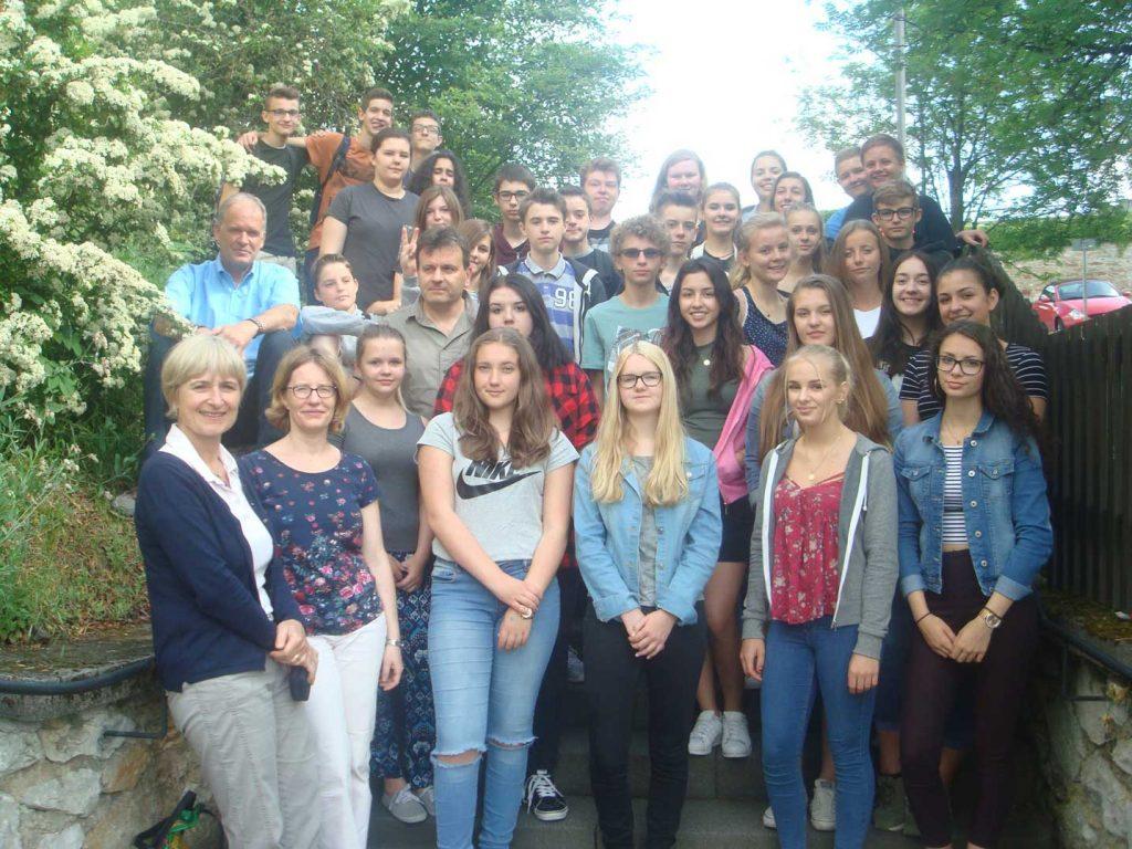 Französische Schüler zu Gast bei Familien in und um Ehringshausen