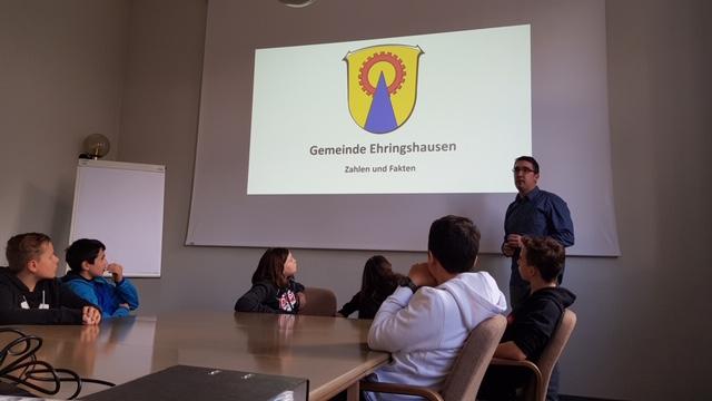 Gutenberg-Schüler bekommen einen Einblick in Gemeindearbeit