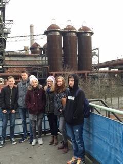 Gutenberg-Schüler erleben Industriekultur
