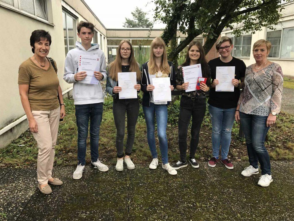Preise beim Fremdsprachenwettbewerb für Gutenbergschüler