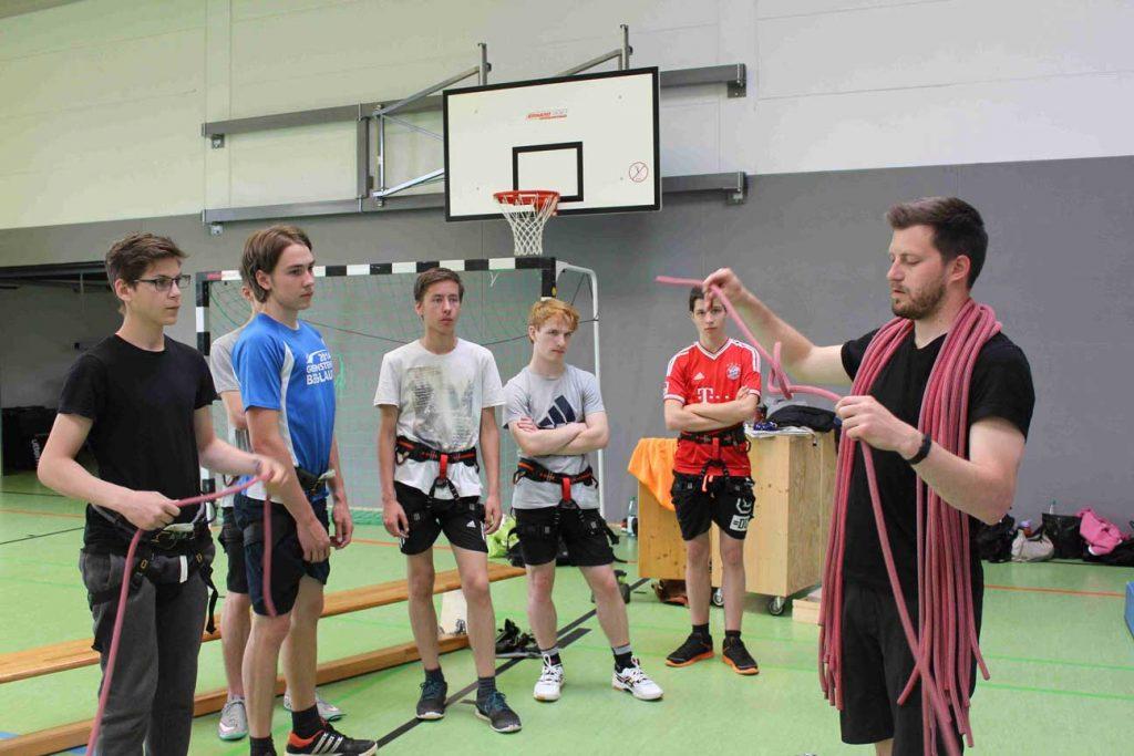 Sport, Biologie und Medienerziehung standen im Mittelpunkt der Gesundheitswoche an der Johannes-Gutenberg-Schule