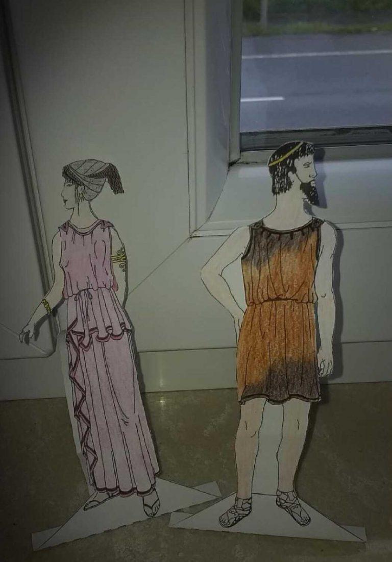 (Antike Mode von Giada La Zara, Klasse 6a)