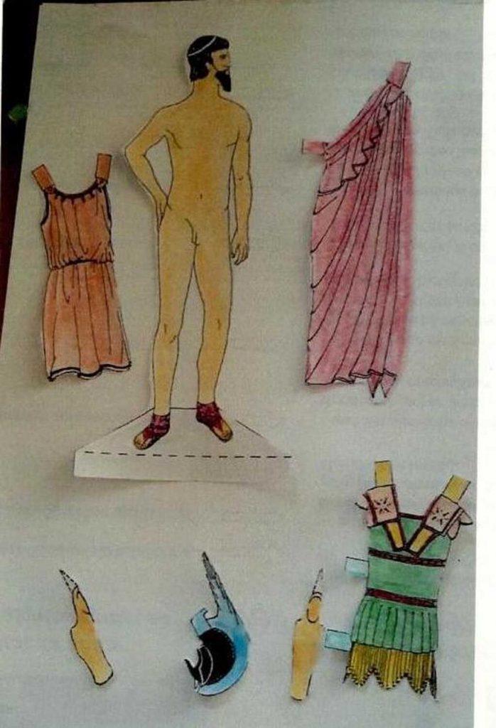 Auf einer Fantasiereise ins antike Griechenland