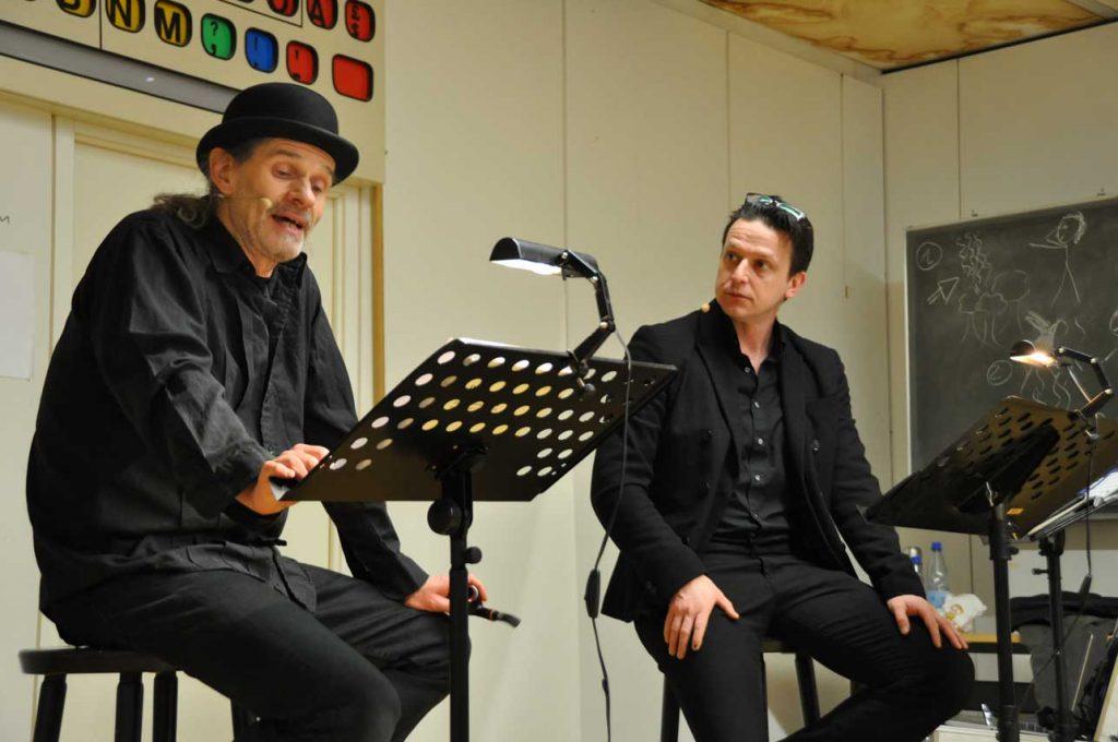 "Sherlock Holmes & Dr. Watson in ""Der Teufelsfuß"""