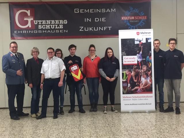 Gutenberg-Schule kooperiert mit dem Malteser-Hilfsdienst