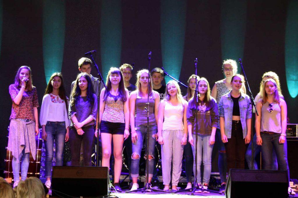 W2-Kurs präsentiert Schülermusical auf dem Hessentag