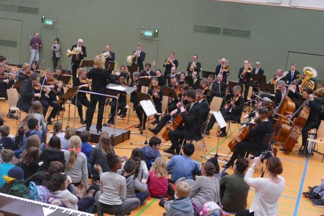 Weltklasse Orchester zu Gast an der Gutenberg-Schule
