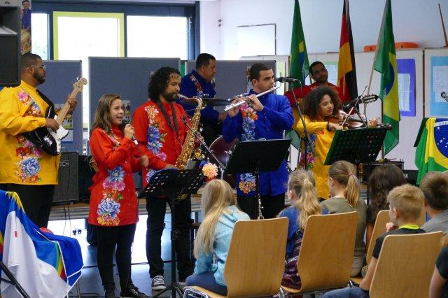 Música fantástica an der Gutenberg-Schule