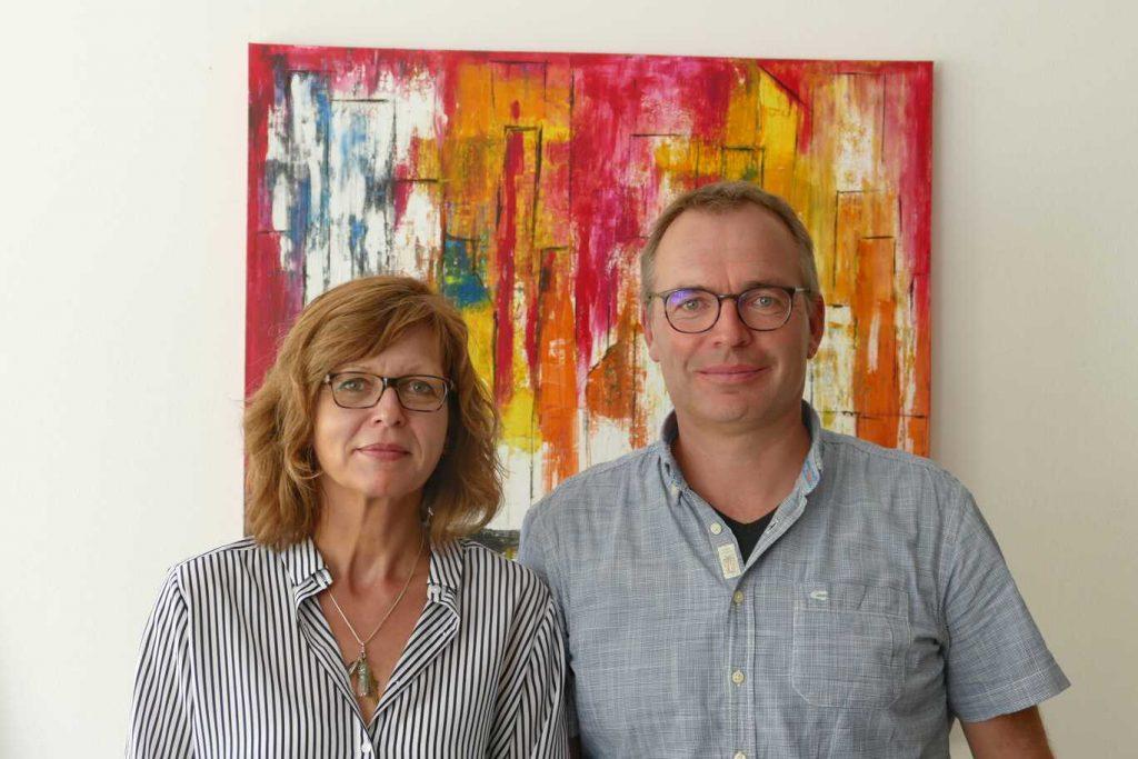 Silke Riedl und Stefan Scharfe neu in der Schulleitung