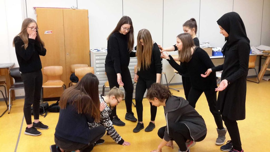 Theater-Work-Act´s an der Johannes-Gutenberg-Schule