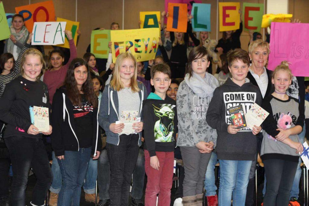 Lea Weimer gewinnt Vorlesewettbewerb der Johannes-Gutenberg-Schule