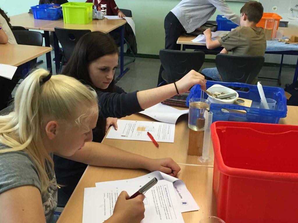 "Schüler der Klasse 8d besuchten ""Pia visit Goethe"""