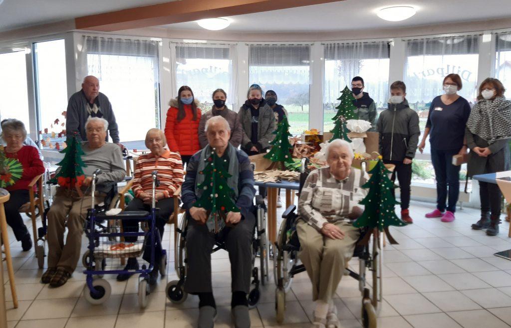 Weihnachtsflair in der Seniorenresidenz