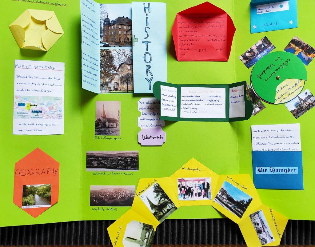 Gutenberg-Schüler zeigen ihre Heimat mit Lapbooks