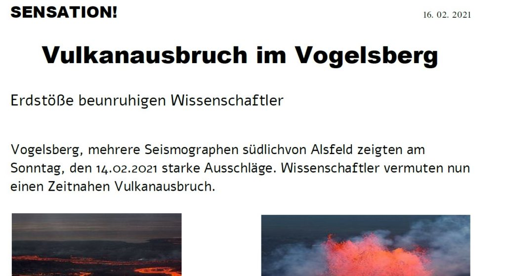 Fake News – Kreativ betrachtet