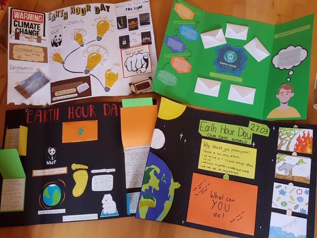 Ein Lapbook zum Earth Hour Day